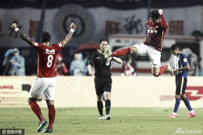 Evergrande goleia, mas vitória do Jiangsu deixa decisão do título para próxima rodada
