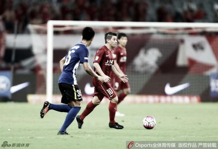 Shanghai SIPG abre 23ª rodada da Super Liga Chinesa com vitória e preocupação sobre argentino Darío Conca