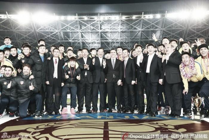 Tianjin Quanjian conquista título da segunda divisão chinesa e acesso à elite do país em 2017