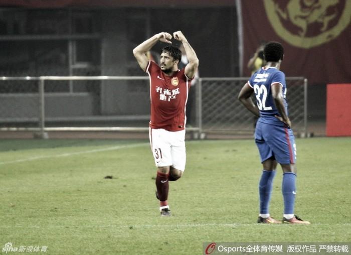 Hebei e Chongqing empatam em duelo de ex-são paulinos Aloísio e Alan Kardec