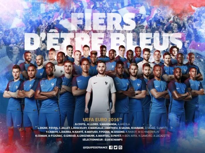 Euro 2016: i 23 di Deschamps, la Francia è da titolo