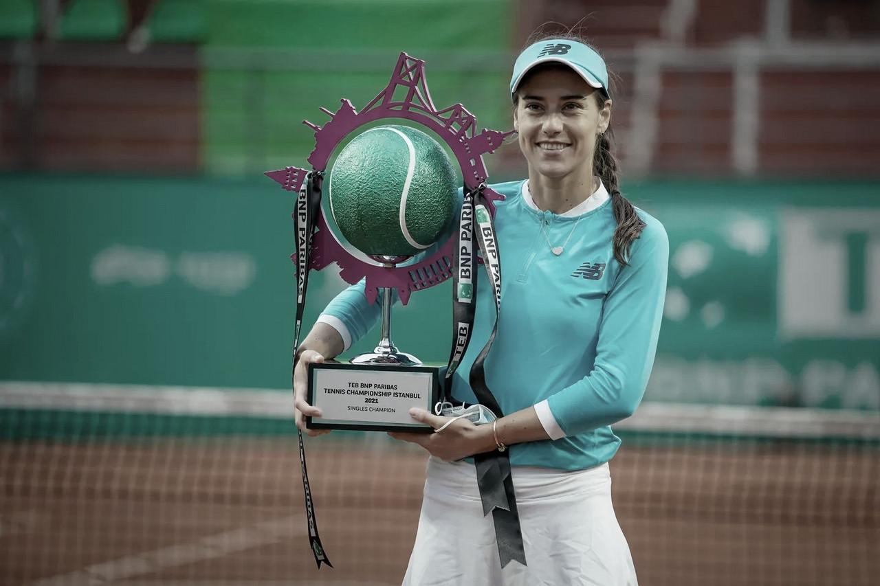 Cirstea desbanca Mertens em Istambul e conquista primeiro título de nível WTA em 13 anos