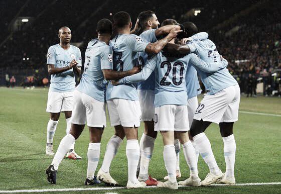 Manchester City vence Shakhtar Donetsk com tranquilidade e assume liderança do grupo F