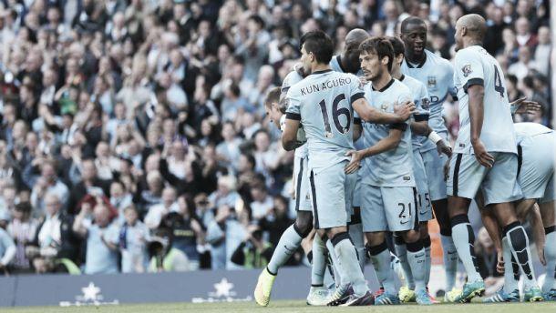 Top five Manchester City goals of 2014-15