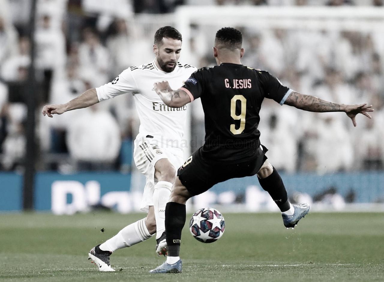 Manchester City defende vantagem contra Real Madrid por vaga nas quartas da Champions