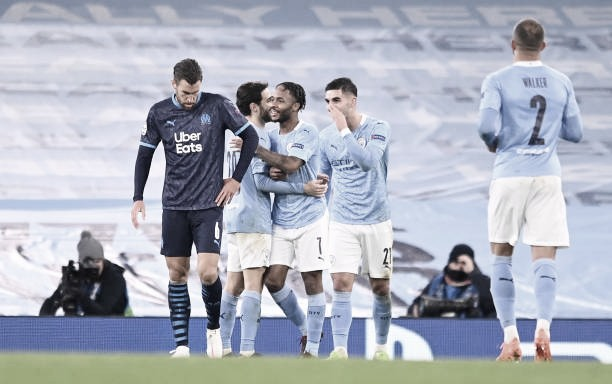 Após susto inicial, Manchester City vence Olympique Marseille