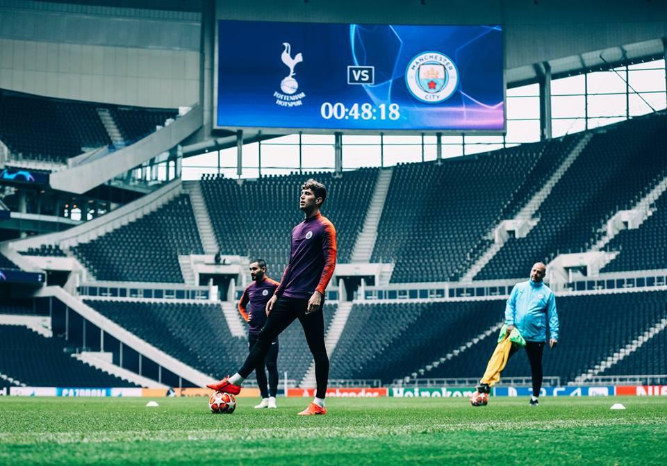Tottenham e Manchester City fazem clássico britânico nas quartas da Champions League