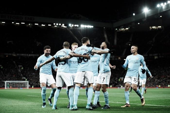 Premier League - Il Manchester City espugna Old Trafford e scappa in vetta: United battuto 1-2 e +11 in classifica