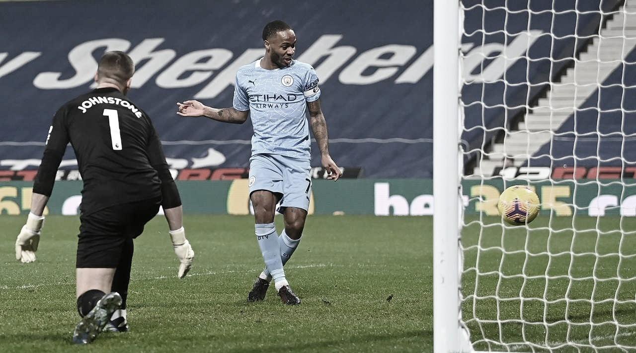 West Bromwich 0 a 5 Manchester City (Premier League / Divulgação)