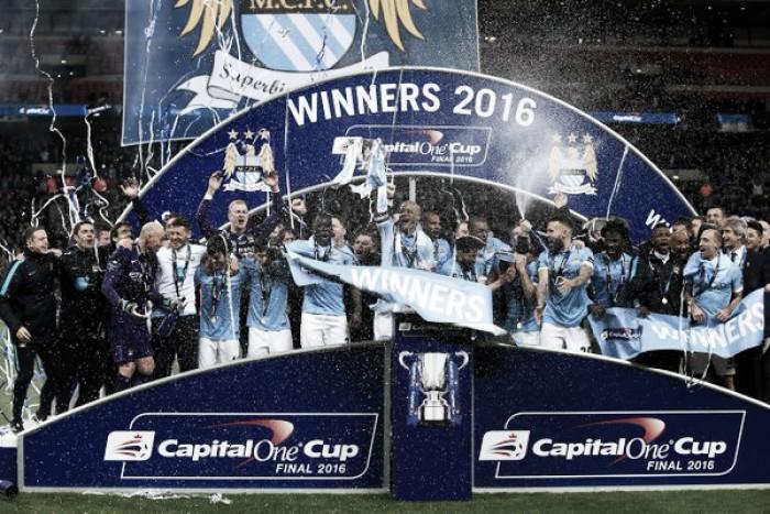 Caballero brilha nos pênaltis, City bate Liverpool e conquista Copa da Liga Inglesa
