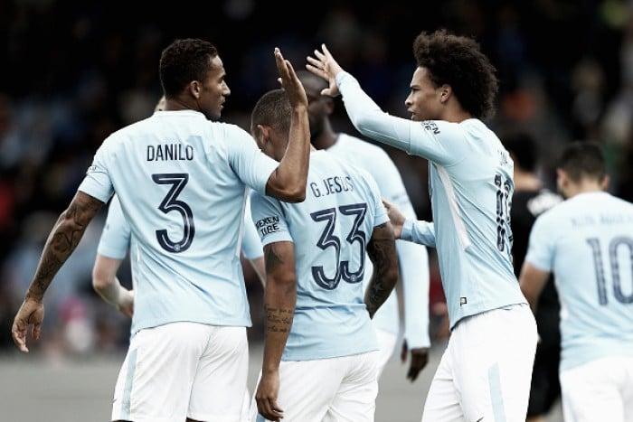 Gabriel Jesus marca e City bate West Ham sem dificuldades no encerramento da pré-temporada