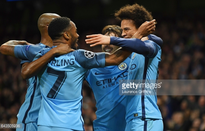 Manchester City v AS Monaco, Champions League 2016/17