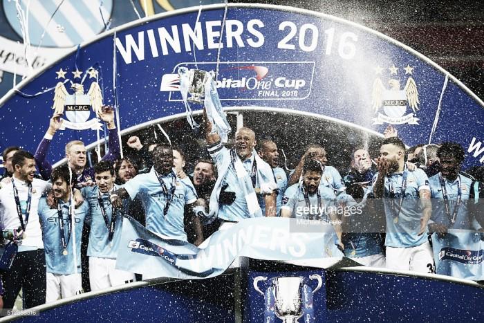 Final da Taça da Liga Inglesa: Manchester City derruba Liverpool nos penalties e levanta o troféu