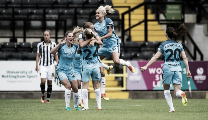 Notts County Ladies 1-5 Manchester City Women: Citizens return to WSL summit with super showing