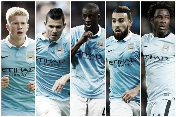 Manchester City have five players nominated for Ballon d'Or