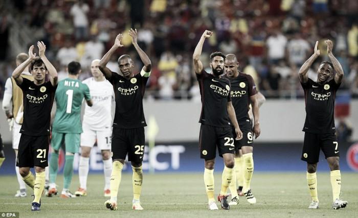Steaua Bucharest 0-5 Manchester City: Aguero shines in European romp