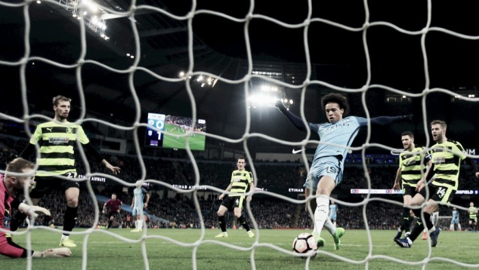 FA Cup - Il Manchester City vola ai quarti rullando l'Huddersfield nel replay (5-1)
