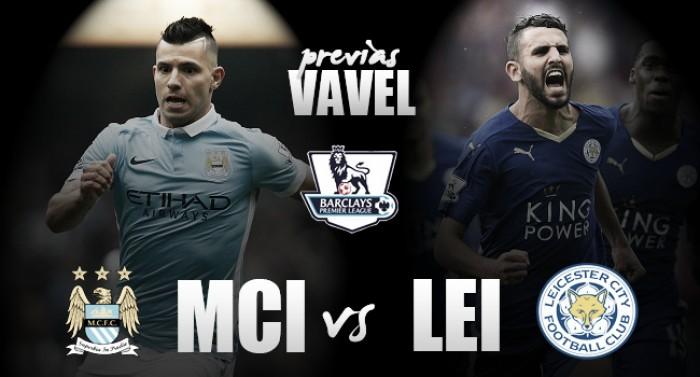 Manchester City - Leicester: el liderato en juego
