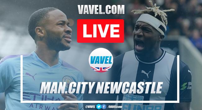 As it happened: Manchester City 5-0 Newcastle United Premier League 2020
