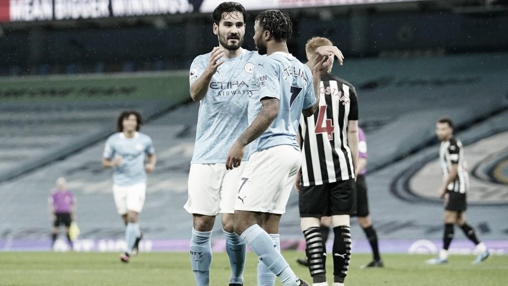 Manchester City faz o dever de casa e conquista vitória protocolar contra Newcastle