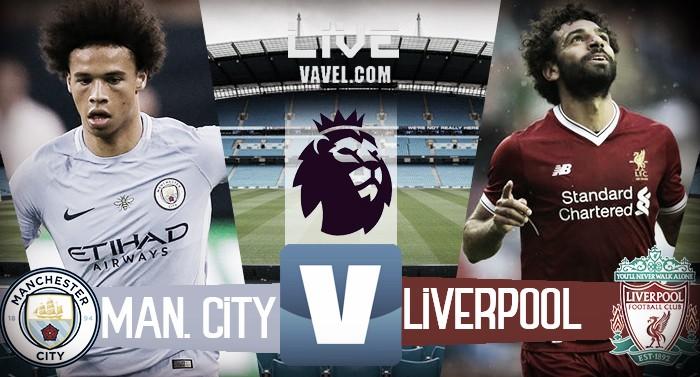 Terminata Manchester City - Liverpool, LIVE Premier League 2017/18 (5-0): Gol di Aguero, Sané e Jesus