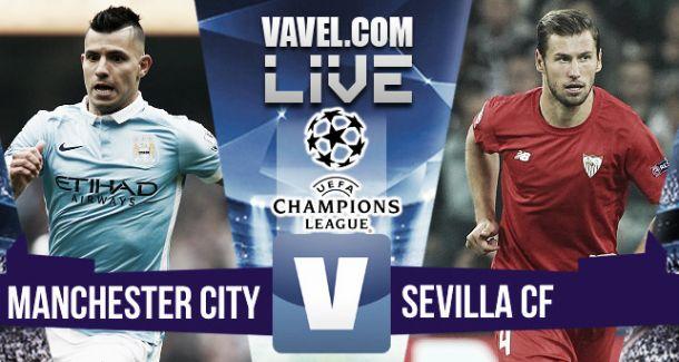 Manchester City 2-1 Sevilla: As it happened