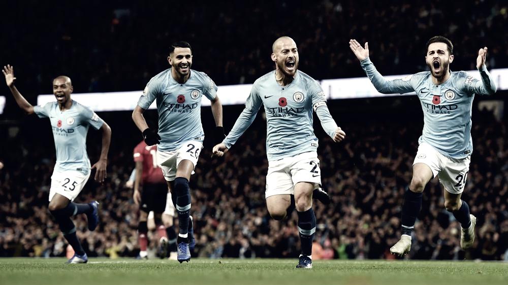 El Manchester City se reafirma como líder en el derbi de Manchester