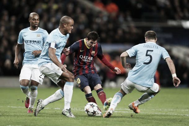 Opinion: How do Manchester City line up against Barcelona?