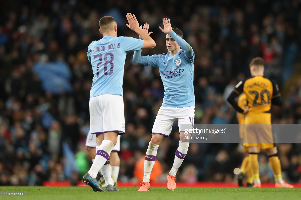 Manchester City 4-1 Port Vale: City see off valiant Vale in FA Cup Third Round