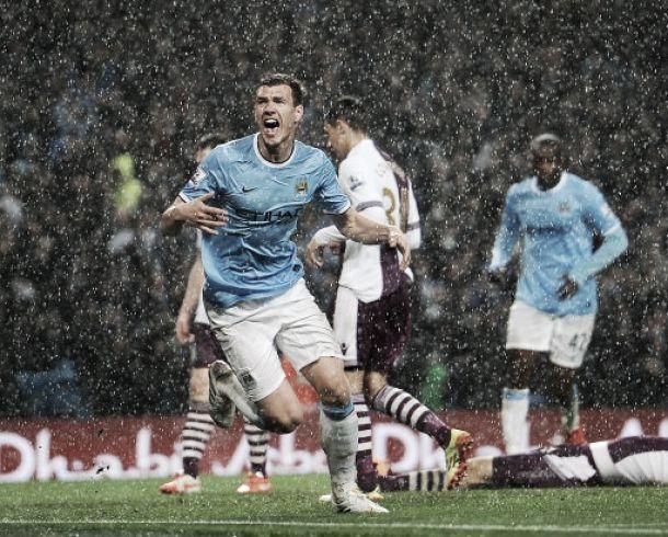 El City derrota al Aston Villa y acaricia la Premier