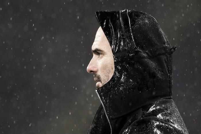 Pep Guardiola elogia David Silva e De Bruyne e fala sobre baixa de Gabriel Jesus