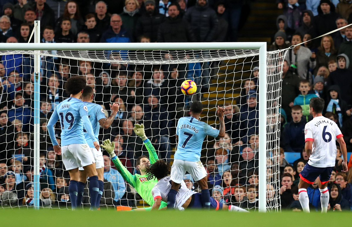 مانشستر سيتي يواصل انتصاراته في الدوري الانجليزي