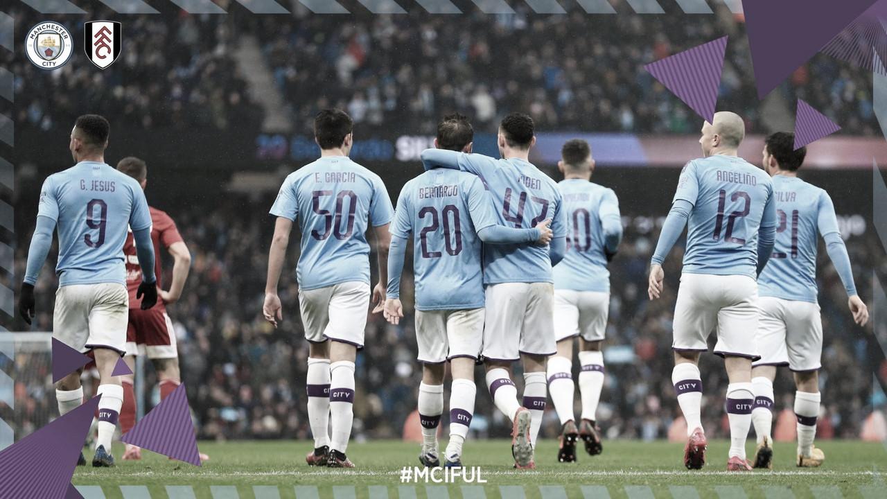 El Manchester City no da opción al Fulham y espera rival en los octavos de la FA Cup