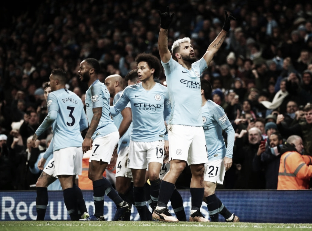 Manchester City bate Liverpool e assume vice-liderança da Premier League