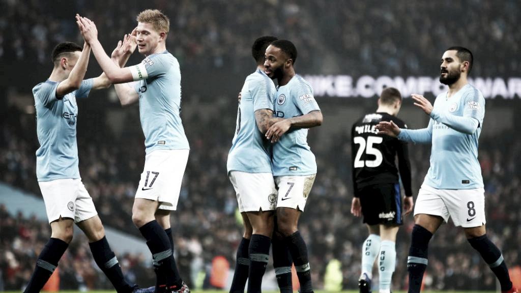 Manchester City goleia Rotherham por 7 a 0 e avança na Copa da Inglaterra
