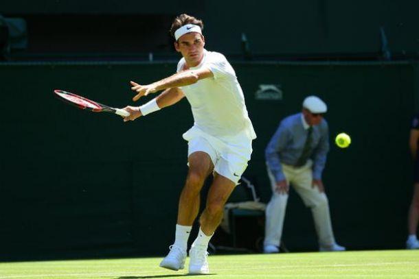 Wimbledon 2015, Federer senza problemi