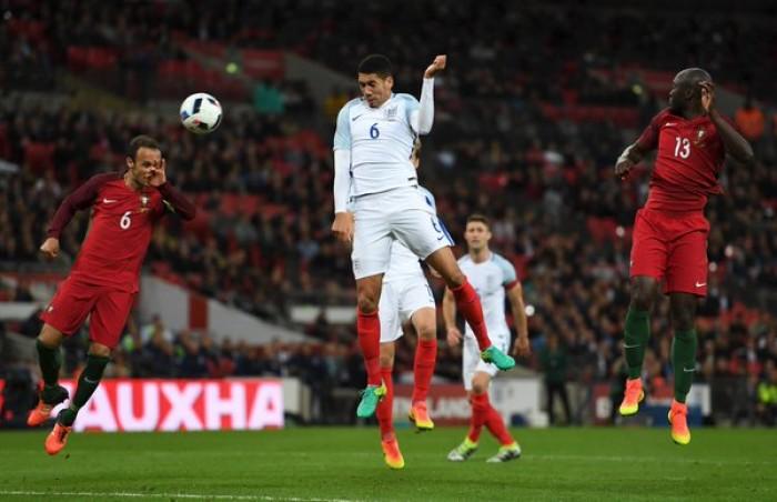 Verso Euro 2016, Inghilterra - Portogallo 1-0: decide Smalling