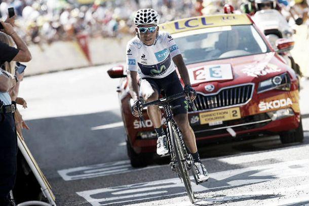 Nairo Quintana entró al top 3 y de paso asumió el liderato en la clasificación de los jovenes