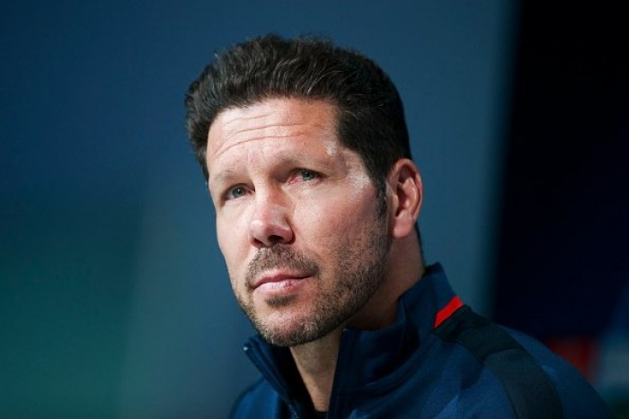"Atletico Madrid, Simeone: ""Partita equilibrata"""