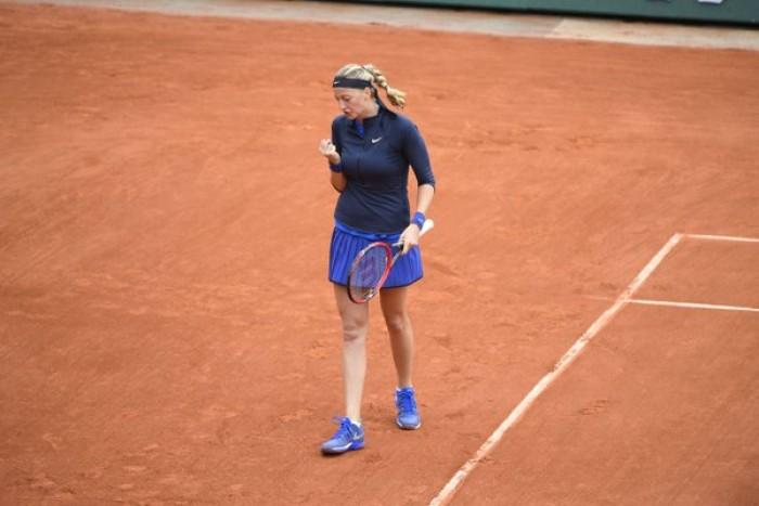 Roland Garros 2016, day 1: Kvitova col brivido