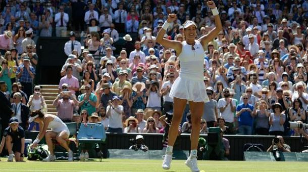 Wimbledon 2015: Muguruza da urlo, è finale!