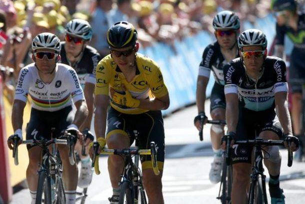 Tour de France, 6^ tappa:Martin eNibali finiscono a terra.Le parole dei protagonisti