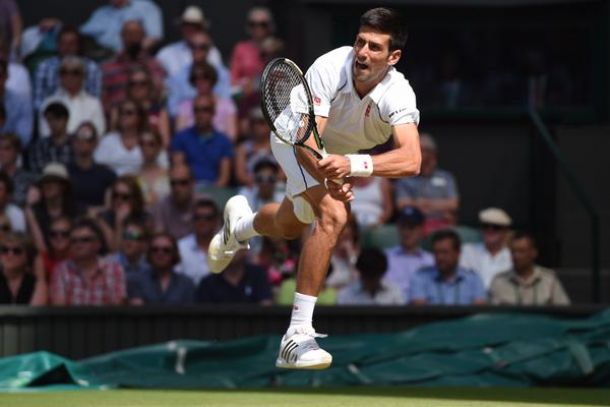Wimbledon 2015, Djokovic supera Gasquet in tre set
