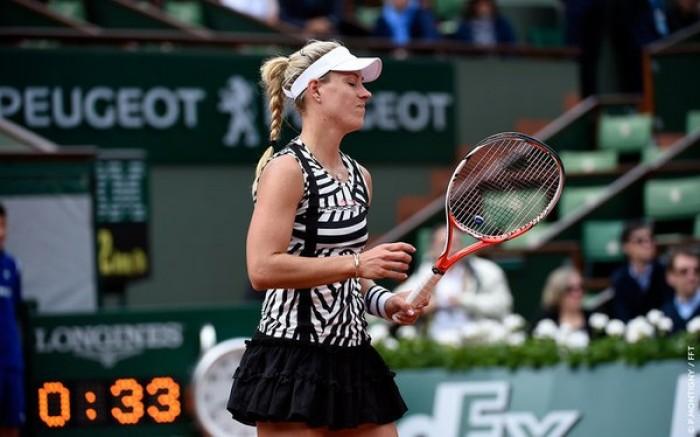 Roland Garros - Fuori Angelique Kerber, bene Camila Giorgi