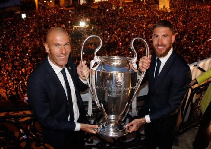 """Zidane ne è convinto: """"La Juventus in futuro farà bene anche in Europa"""""""