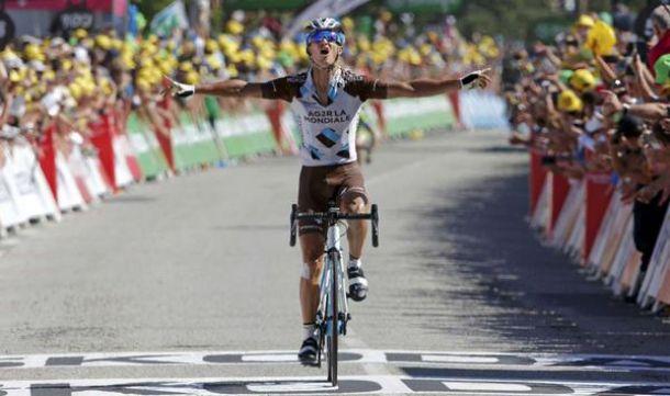 Tour de France, 8^ tappa: Vuillermoz trionfa sul Mur de Bretagne