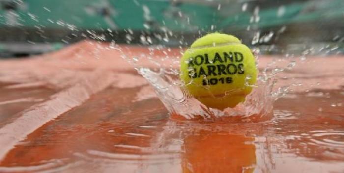 Roland Garros, vince la pioggia. Rinviate tutte le partite