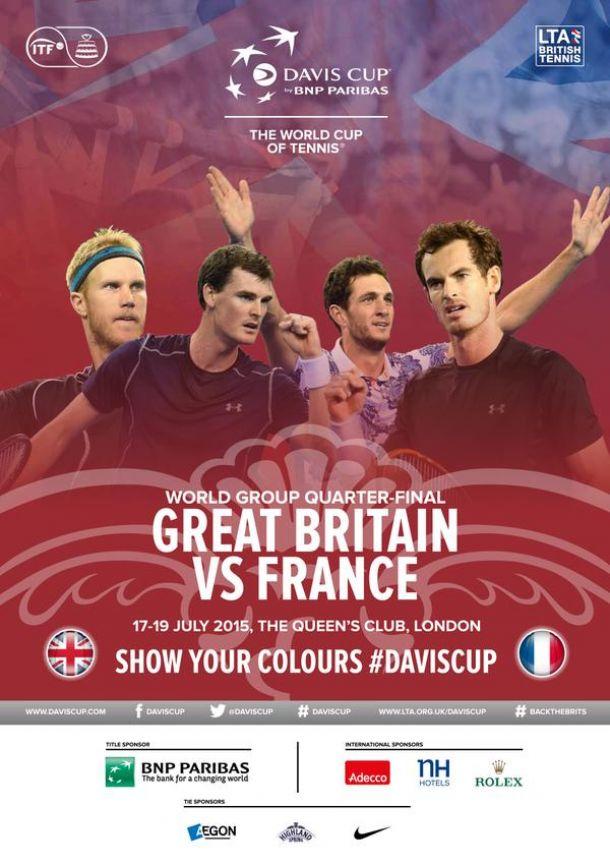 Coupe Davis : La sélection Française