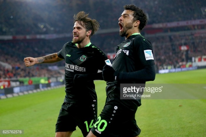 Fortuna Düsseldorf 2-2 Hannover 96: Bormuth and Bebou earn Fortuna hard-fought draw