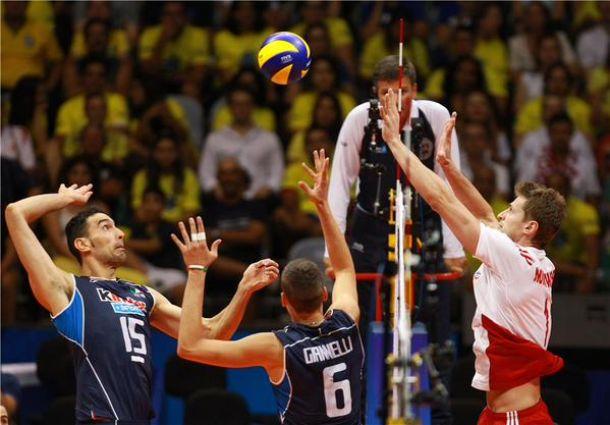 Volley, World League 2015: l'Italia cede alla Polonia